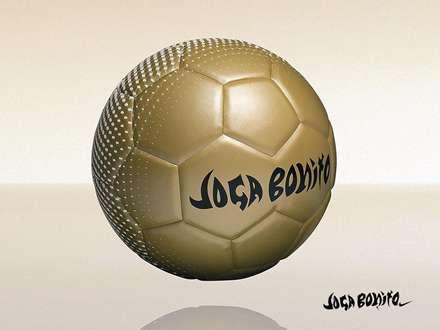 توپ فوتبال طلایی نایکی