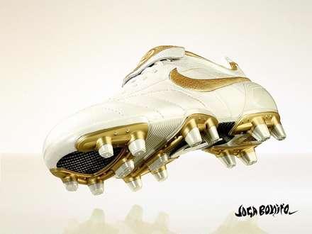 کفش سفید فوتبال نایکی