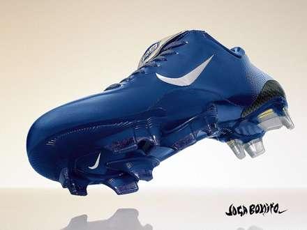 کفش آبی فوتبال