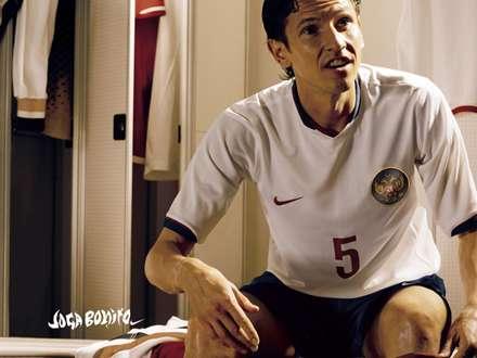 فوتبالیست در رختکن