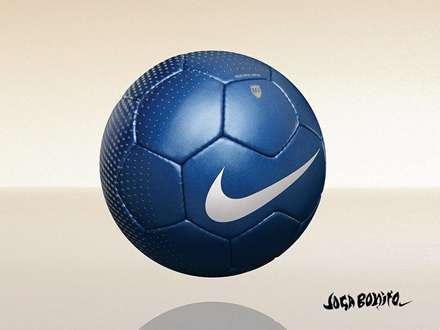 توپ آبی فوتبال نایکی