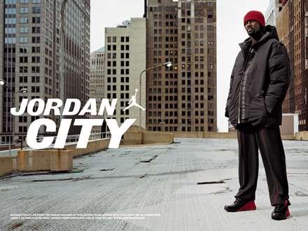 عکس تبلیغاتی شهر مایکل جوردن