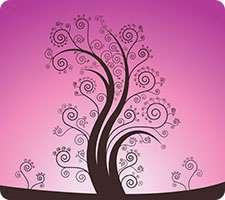 تصاویر وکتور درخت اسلیمی چهار فصل