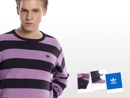 عکس تبلیغاتی آدیداس برای جوانان