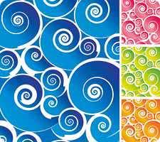تصاویر وکتور پس زمینه و پترن های رنگی (Patterns)