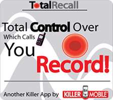 ضبط مکالمات تلفن در اندروید، Call Recorder | Total Recall 2.0.3