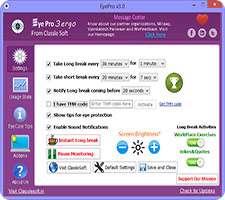 محافظت از چشمان خود در هنگام کار با رایانه، Eye Pro 3.0
