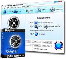 مبدل فایل های ویدیویی و فیلم، Bigasoft Total Video Converter 4.2.6.5249