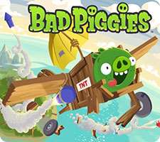 دانلود بازی Bad Piggies 1.6.0 بازی فکری خوکهای بدجنس در اندروید