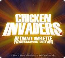 بازی جذاب و سرگرم کننده Chicken Invaders 4 Thanksgiving Edition