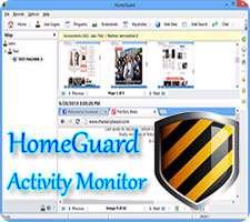 مانیتورینگ و کنترل فعالیت های فرزندان، HomeGuard Activity Monitor 1.7.4