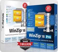 فشرده سازی فایل ها و پوشه ها، WinZip Pro 18.0 Build 10661 Final