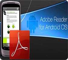 دانلود Adobe Reader 16.4 مشاهده و مرور فایل های PDF در اندروید