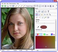 رتوش و ترمیم چهره و تصاویر، Beauty Guide 2.2.2