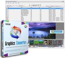 تبدیل فرمت تصاویر به یکدیگر، Graphics Converter PRO 2013 3.80 Build 131111