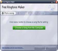 ساخت رینگتون دلخواه برای تلفن همراه، Free Ringtone Maker 2.4.0.2007
