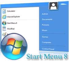 دانلود IObit Start Menu 8 2.0.1 بازگردانی منوی استارت در ویندوز8