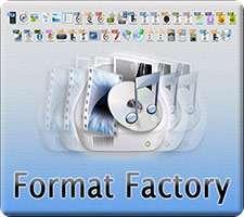 مبدل قدرتمند فایل های چندرسانه ای، Format Factory 3.3.5