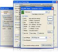 کنترل رایانه از راه دور، UltraVNC 1.1.9.6