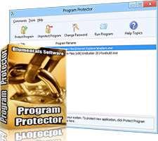 رمزگذاری روی نرم افزارهای ویندوز، Blumentals Program Protector 4.6