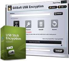 قفل گذاری روی حافظه های فلش، GiliSoft USB Stick Encryption 5.4