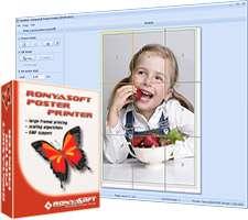 طراحی و ساخت پوستر و بنر، RonyaSoft Poster Printer 3.01.35