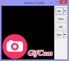 فیلم برداری از محیط ویندوز با فرمت گیف، GifCam 3.1