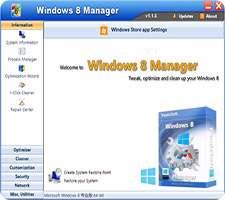 دانلود Windows 8 Manager 2.2.0 Final مدیریت قدرتمند ویندوز 8 و 8.1