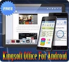ابزار کاربردی آفیس در اندروید، Kingsoft Office + PDF 9.9.6