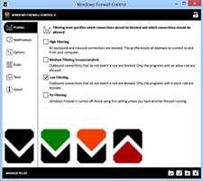 دانلود Windows Firewall Control 4.4.0.1 فایروال ساده و سریع ویندوز