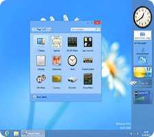 گجت های کاربردی برای ویندوز 8، 8GadgetPack 12.0