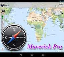 جی پی اس و مکان یاب + نقشه آفلاین تهران و ایران، Maverick Pro 2.61