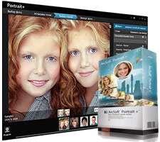 رتوش و زیباسازی تصاویر چهره، ArcSoft Portrait+ 3.0.0.395