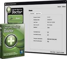 بهینه سازی رجیستری ویندوز، Genuine Registry Doctor 2.6.7.2