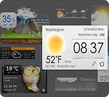 دانلود GO Weather Forecast & Widgets Premium 5.67 وضعیت هواشناسی