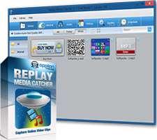 دانلود و ذخیره کلیپ های صوتی و تصویری آنلاین، Replay Media Catcher 5.0.1.24