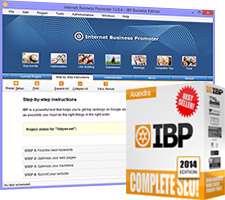 ثبت و معرفی سایت ها در موتورهای جستجو، Internet Business Promoter (IBP) 12.0.4