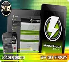 مدیریت دانلود فایل در اندروید، Loader Droid Download Manager 0.9.8.3