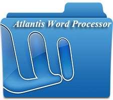 ویرایشگر سبک متن و اسناد، Atlantis Word Processor 1.6.6.1