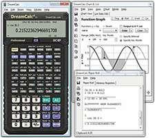 ماشین حساب مهندسی + پرتابل، DreamCalc Professional Edition 4.9.0