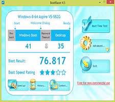 بررسی و نمایش سرعت بوت ویندوز، BootRacer 4.6 Final