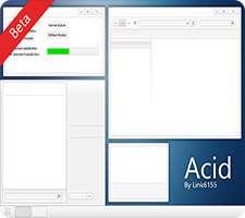 تم زیبای Acid برای ویندوز 8 و 8.1، Acid Theme for Win 8,8.1