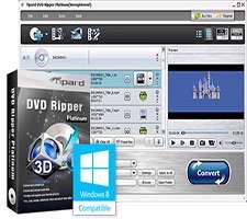 تبدیل DVD به سایر فرمت ها، Tipard DVD Ripper 7.1.50
