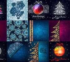 تصاویر وکتور پس زمینه های تزئینی، سری ششم