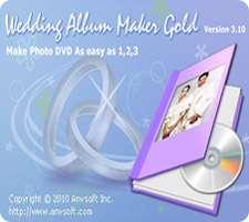 ساخت آلبوم عکس عروسی، Wedding Album Maker Gold 3.53