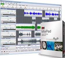 میکس و ضبط آهنگ های صوتی، MixPad Audio File Mixer 3.73