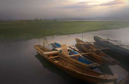 قایق های باریک