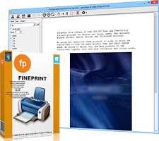 مدیریت و صرفه جویی در لوازم پرینتر، FinePrint Workstation 8.02 Final