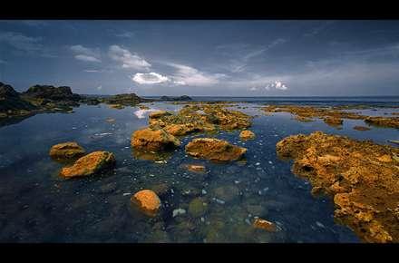 عصر دلگیر دریا