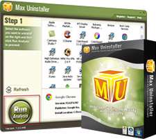 حذف کامل نرم افزارهای نصب شده، Max Uninstaller 3.0.0.1247 Final